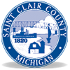Saint Clair County County Logo