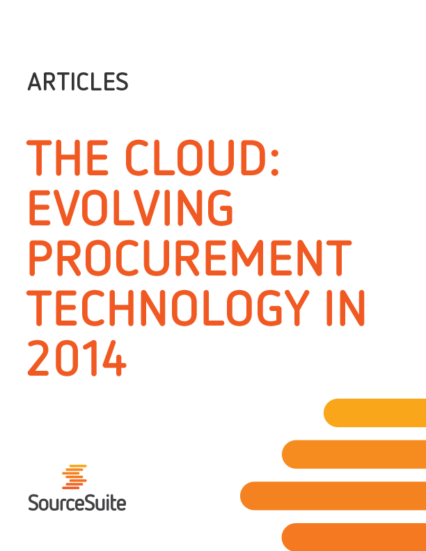 The Cloud: Evolving Procurement Technology in 2014