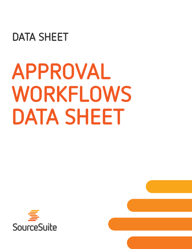 Approval Workflows Data Sheet