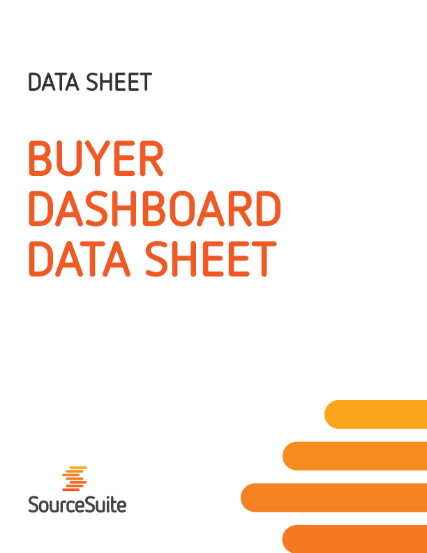 Buyer Dashboard Data Sheet