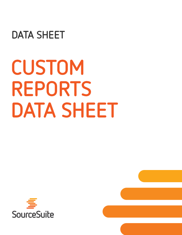 Custom Reports Data Sheet