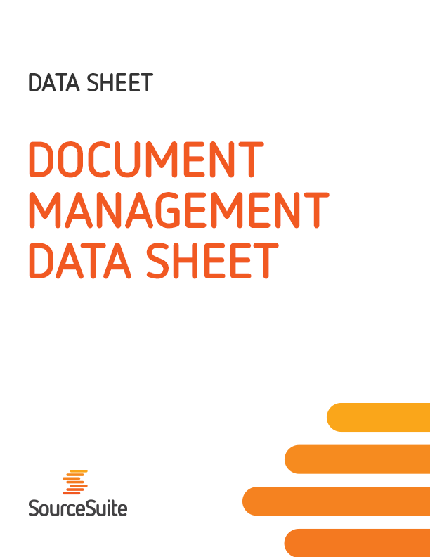 Document Management Data Sheet