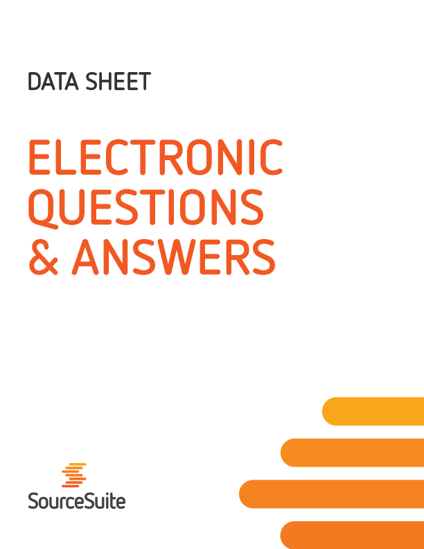 Electronic Questions and Answers