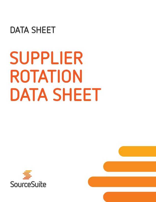 Supplier Rotation Data Sheet