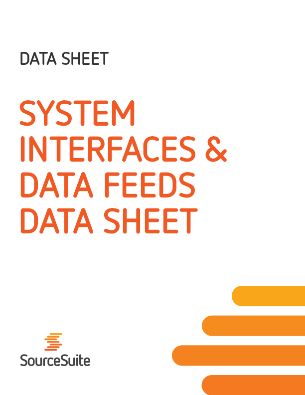 System Interfaces & Data Feeds Data Sheet